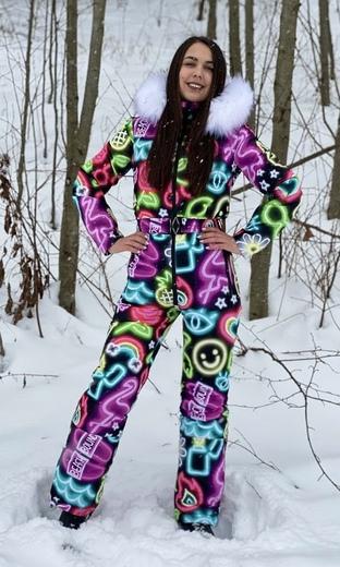 "Winter jumpsuit for female Boo&Bon ""Neon"""