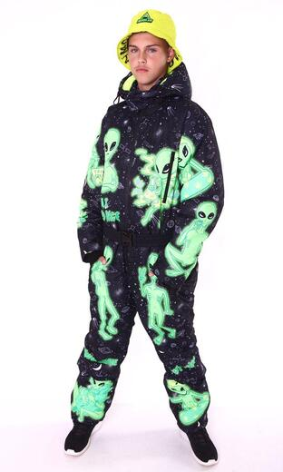 """Winter jumpsuit for men Boo&Bon """"Humans are terrible"""""""