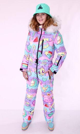 "Winter jumpsuit for female Boo&Bon ""Pullover"""