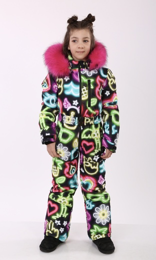 """Winter Jumpsuit for teenagers Boo&Bon """"Neon"""""""