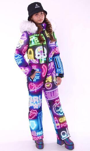 """Winter jumpsuit for female Boo&Bon """"Girl Power"""""""