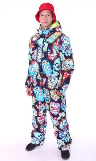 """Winter jumpsuit for men Boo&Bon """"Zombie"""""""