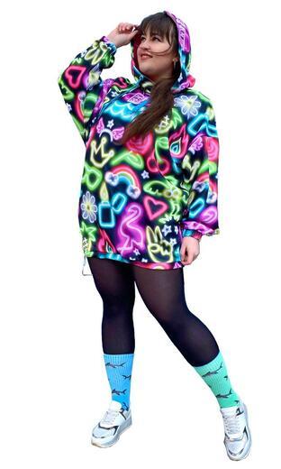 "Hoodie for female Boo&Bon ""Neon"""