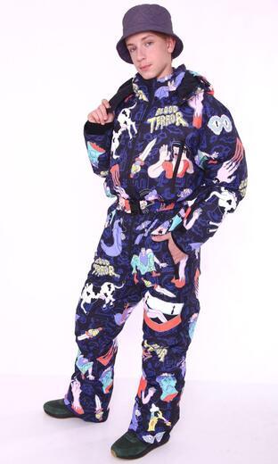 "Winter jumpsuit for men Boo&Bon ""Blood Terror"""