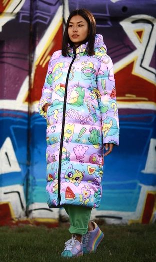"""Straight down jacket for female Boo&Bon """"Pullover"""""""