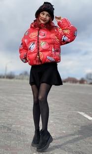"""Куртка-зефирка женская Boo&Bon """"Черри"""""""